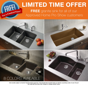 Granite Transformation Free Sink Offer