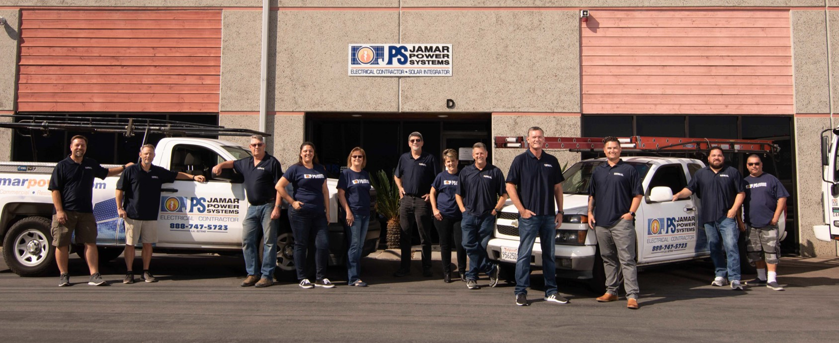 Jamar Power Systems Team Photo