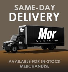 Mor Furniture for Less Offers Same Day Delivery