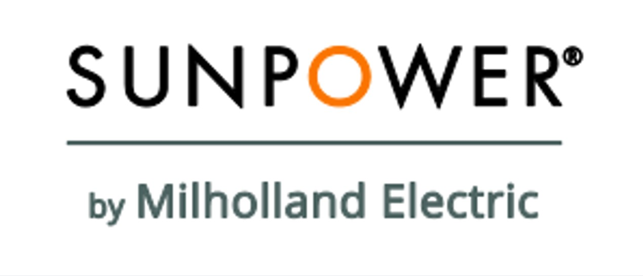 SunPower by Milholland Electric logo