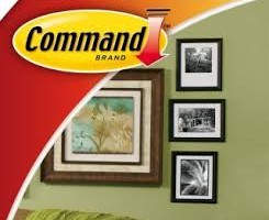 Take Command with 3M Hangers and Abrasives