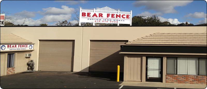 Bear Fence in San Diego
