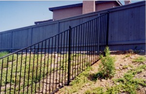 bear fence iron