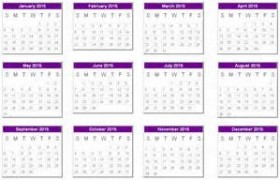 Home Maintenance Calendar