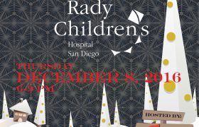 Tree of Dreams Fundraiser for Rady Children's Hospital Dec. 8 at Thompson Building Materials