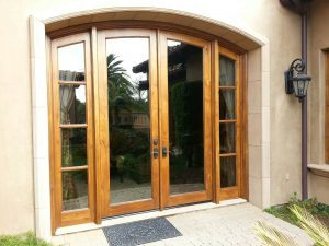 Door With Window Films