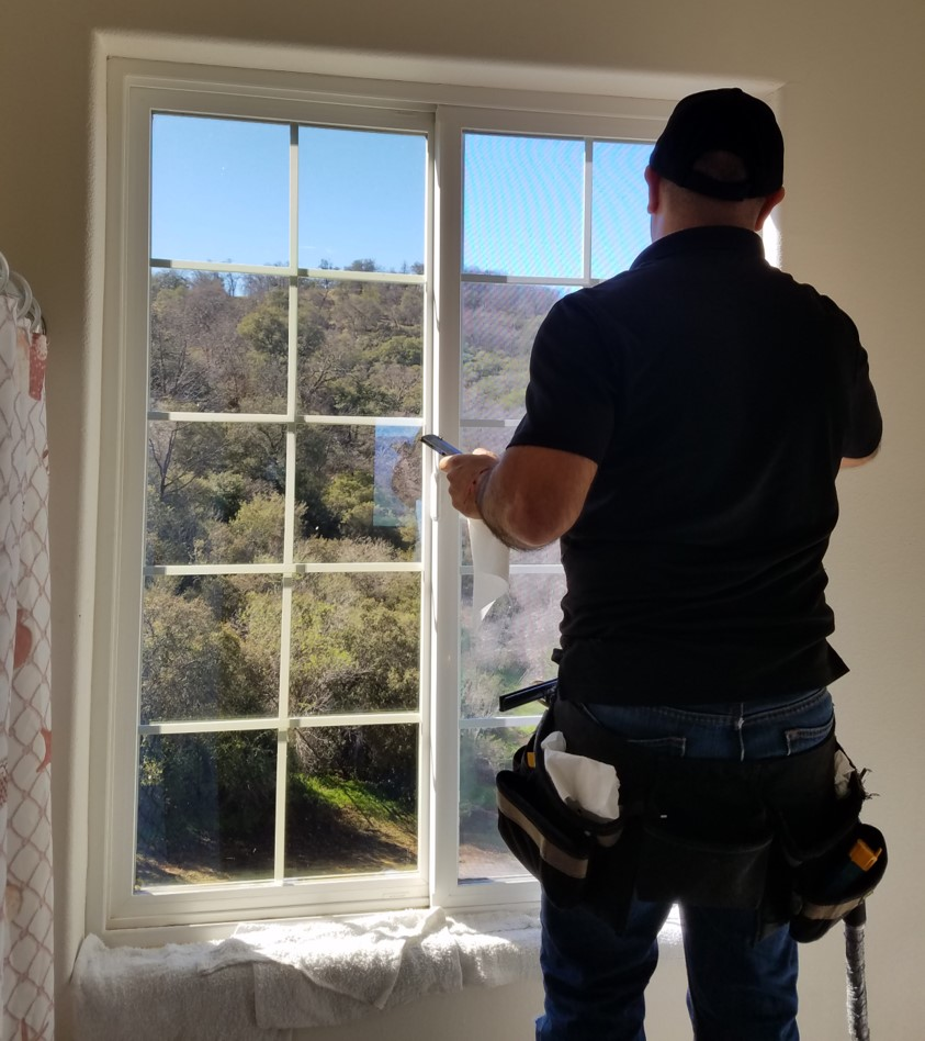 Installing Window Films