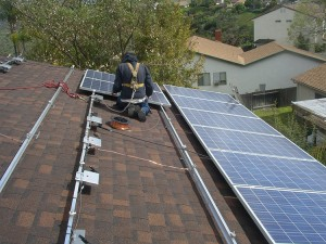 Milholland will make any necessary roof repairs before installing solar.