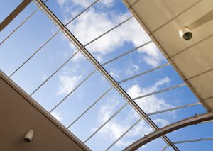 View of Sky With Window Films