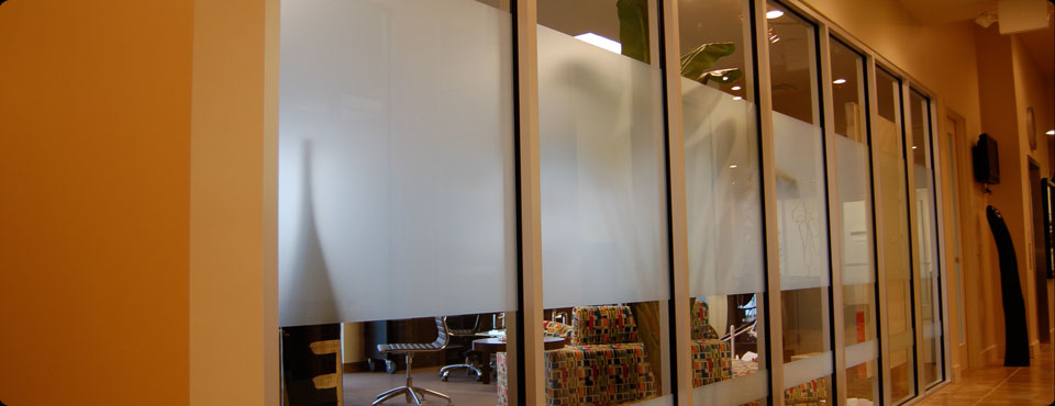 Decorative window film example