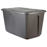 Home Storage Tips - use totes and bins