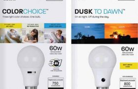New LED Light Bulb Technology