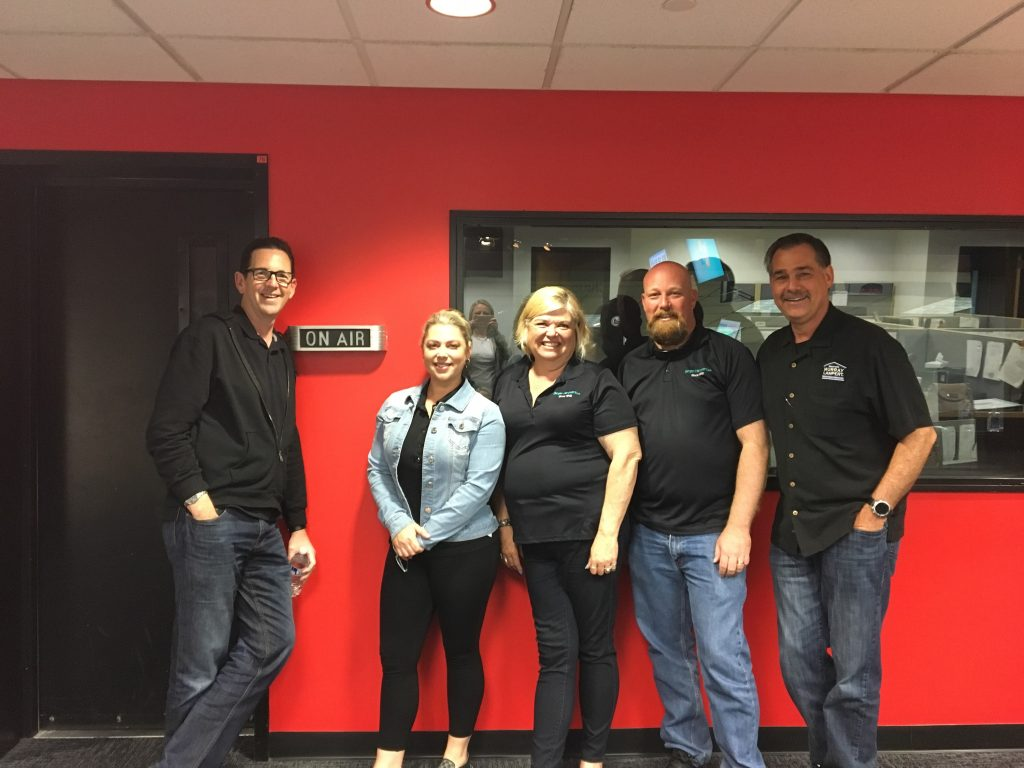 image of Approved Home Pro Show team and guests on 4/28/2018